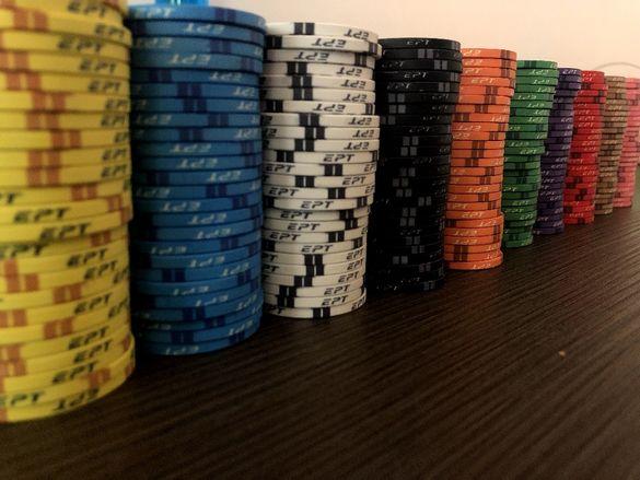 Керамични покер чипове