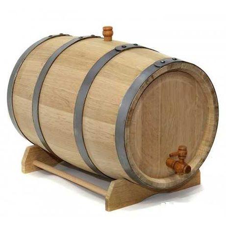 Бочка из колотого дуба 30 литров Премиум. Майкопский бондарь.