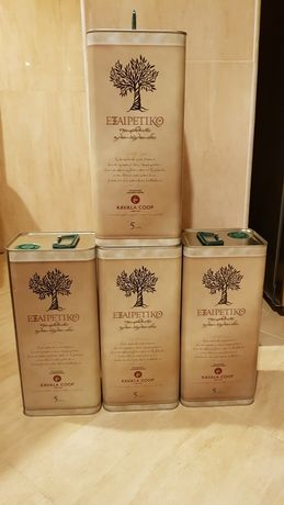 Ulei de masline extravirgin 5 litri THASSOS-KAVALA GRECIA