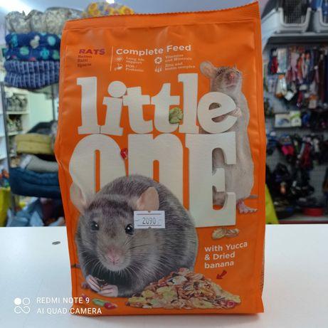 Корм для крысят 900гр Little One