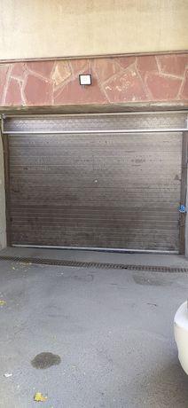 Ворота секционные ширина 3,75, высота 2,50