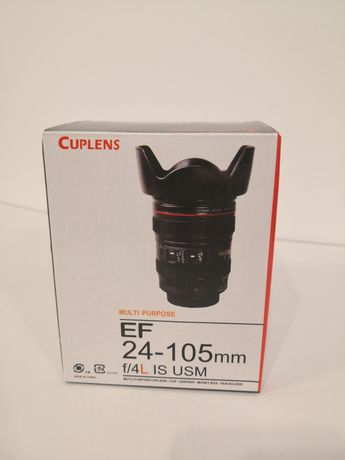 Cana cadou Canon cuplens ef 24-105 f4 L IS USM