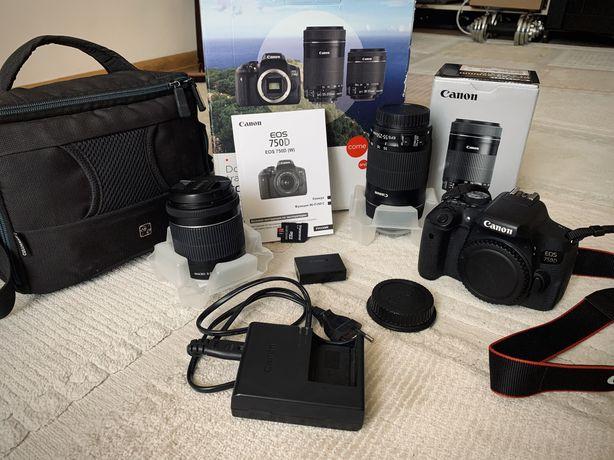 Продаю Супер Камеру - Canon EOS 750D с Аксессуарами! Успейте купить!