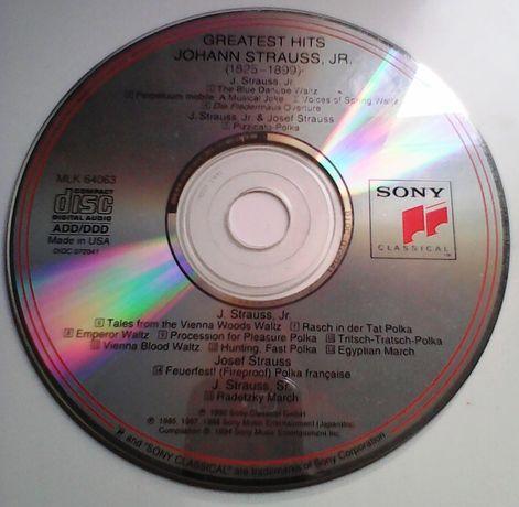 CD - Greatest Hits Johann Strauss, JR - (1825-1899)