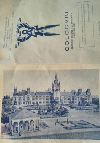 """Vând sau schimb""""Invitație la colocviu""""din 28 octombrie 1983."""
