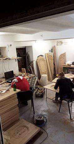 Sculptura lemn masiv