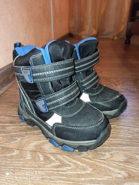 Зимние ботинка для мальчика