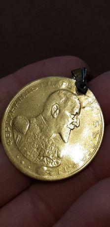 Екстремно рядък златен пендар ФЕРДИНАНД 1914