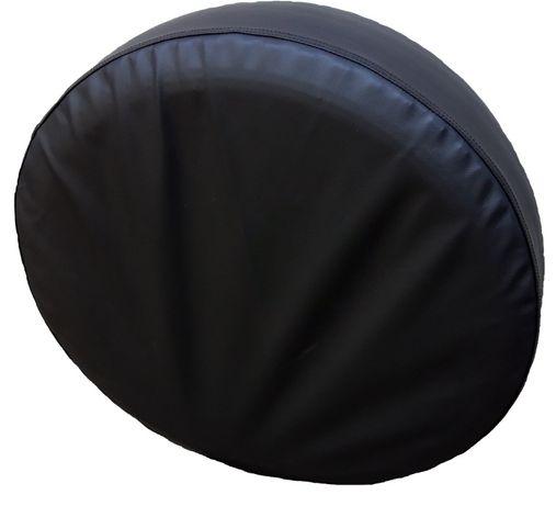 Făcut La Dimensiunea Тa Piele Negru Рoșu Husa Pentru Roata De Rezerva