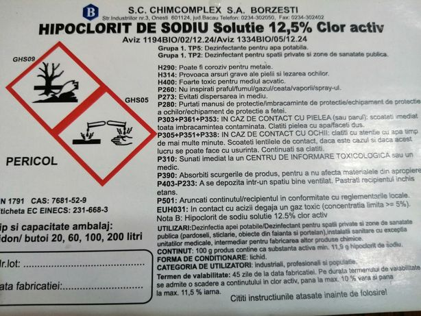 Hipoclorit (Clor biocid)