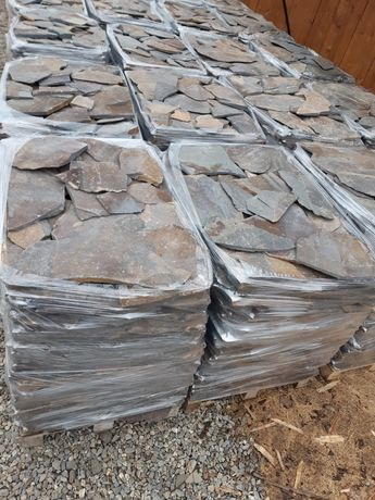 Piatra naturala poligonala sau fasonata si alte produse prefabricate