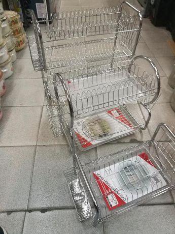 Сушилник за чинии неръждаема стомана единица,двойка,тройка