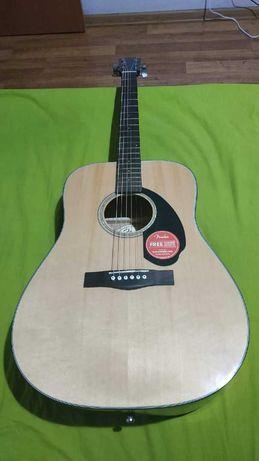 Акустическая гитара Fender CD 60S Nat
