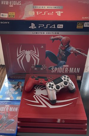 PS4 1tb Spiderman limited edition