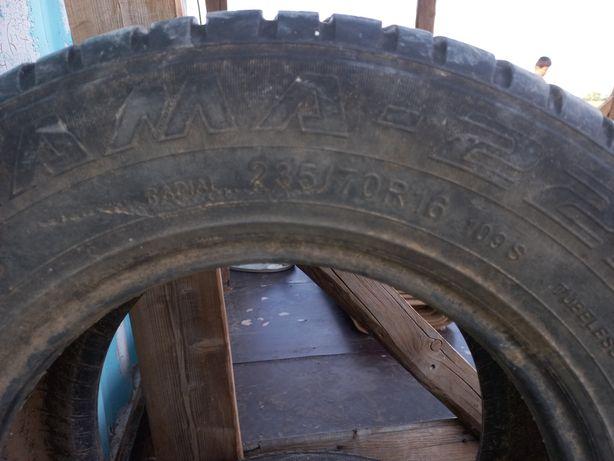 Продам авто шина кама R16 235/70