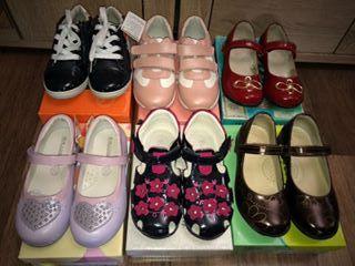 Новая. Обувь для девочки. Туфли, кроссовки, сандалии. Кожа натуральная