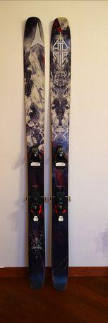Ski freeride Atomic Automatic 186 pentru cunoscători