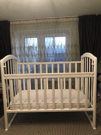 Детская кровать+матрас в подарок