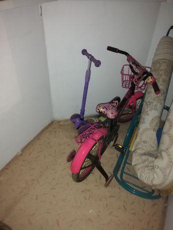 Продам велосипед, самокат,