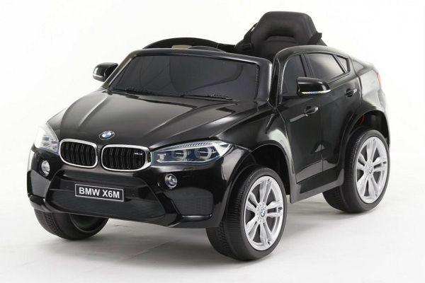 Masinuta electrica Kinderauto BMW X6M 2x35W STANDARD #Negru