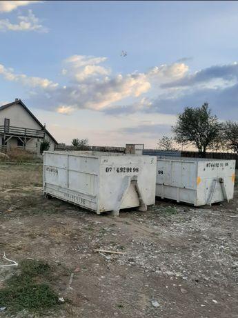Inchiriez container , cuve , bena detasabila pentru moloz moluz gunoi