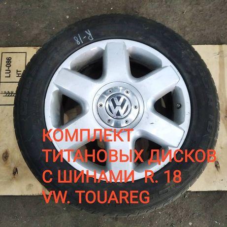 Колеса VW Touareg . R 18