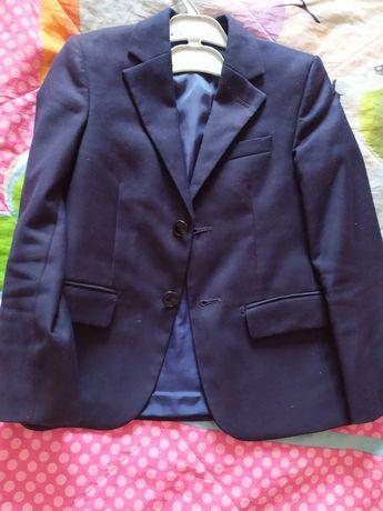 Пиджак школьный для мальчика Гласман на 6-7 лет