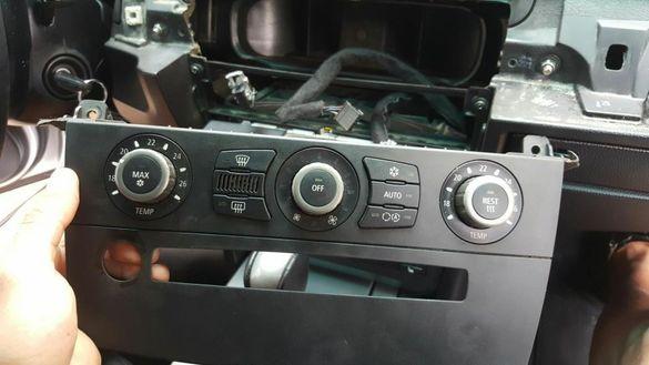 Модул управление панел за климатик BMW E60 E61 БМВ Е60 Е61 двузонов