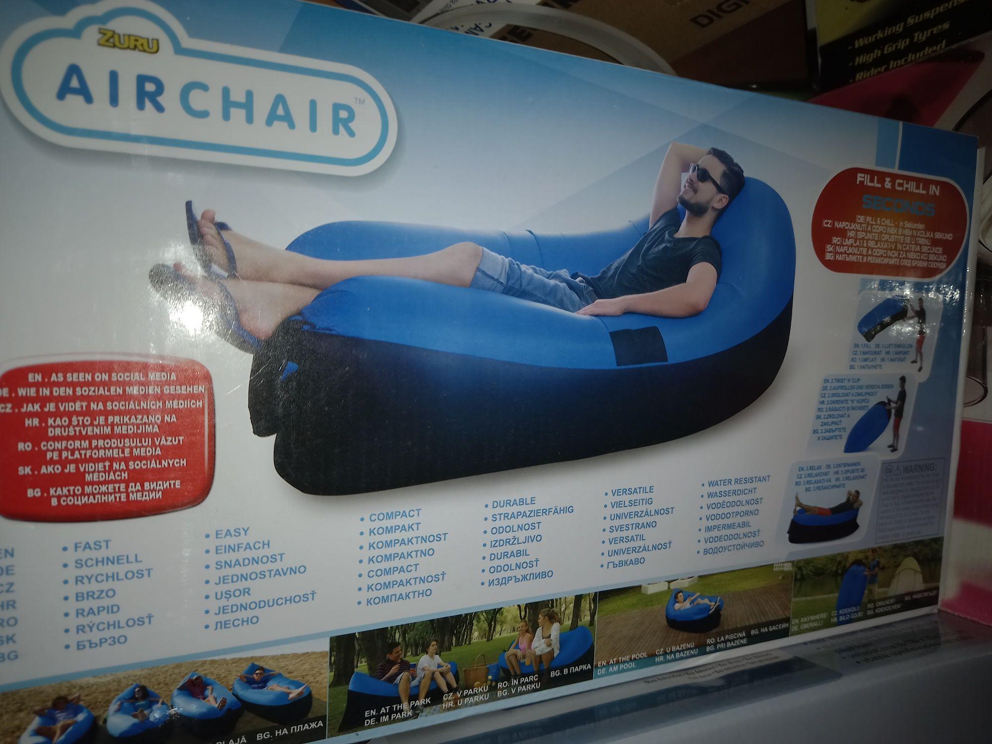 Zuru air chair fotoliu gonflabil