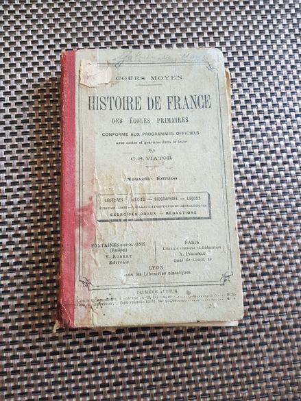 Книга история на Франция от 1911г