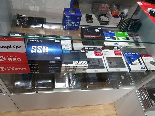 SSD накопители SATA и M.2 120Gb/240Gb/500Gb