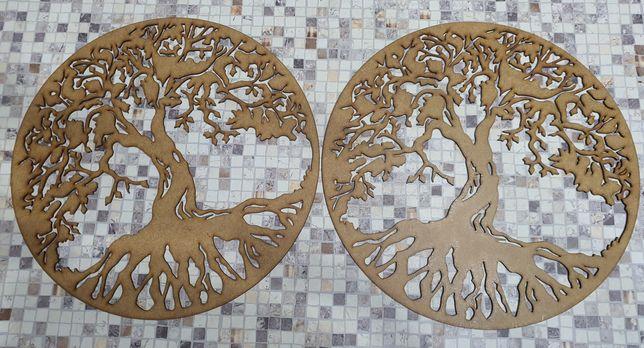 Copacul vieții pentru decorațiuni cu  licheni.