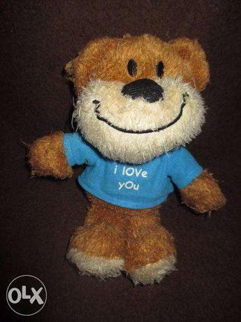 Ursulet cu mesaj I LOVE YOU