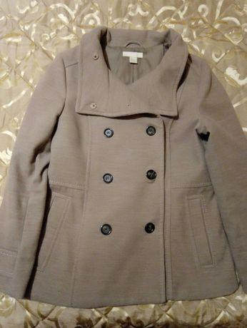Палто с двуредно закопчаване H&M