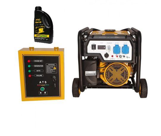 Generator Stager FD3600E+ATS Automatizat, Putere 2.8kW, Stoc Mogosoaia