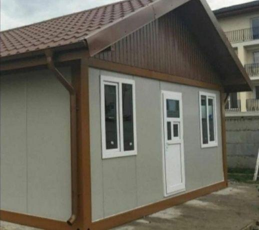 Facem case de locuit cu structura metalică din panou izolat