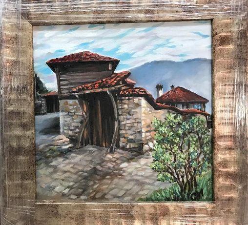Пейзаж от Копривщица - картина с маслени бои от PenichArt