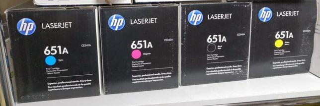 Картридж HP CE340 CE341 CE342 CE343 оригинальный
