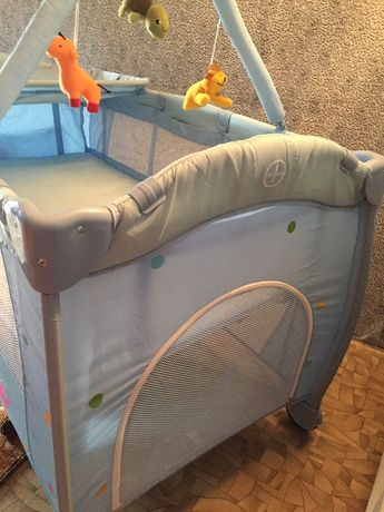 Кровать манеж 2 в 1