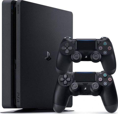 Sony PlayStation 4 Slim+2 геймпада и FIFA 18