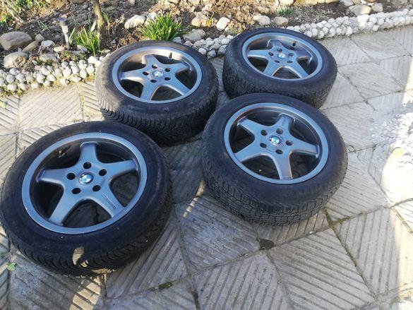 16 цола джанти Borbet със зимни гуми 5х120