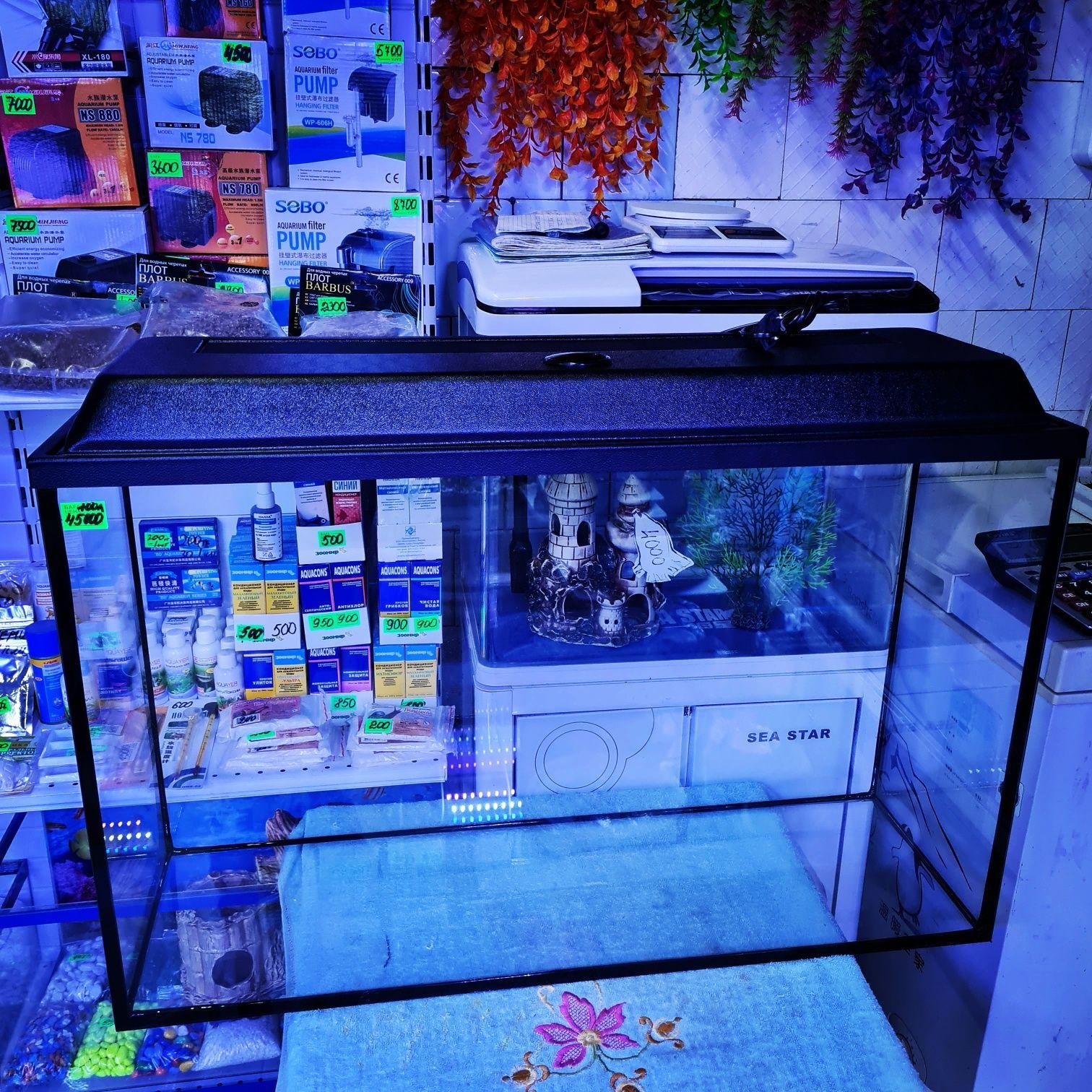 Заводские аквариумы от 100 литров