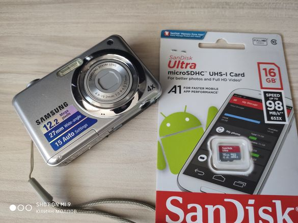 фотоапарат Samsung 12X