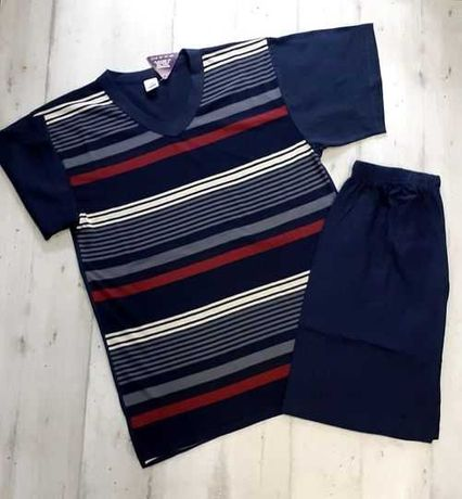 Мъжка пижама - памук S-XL