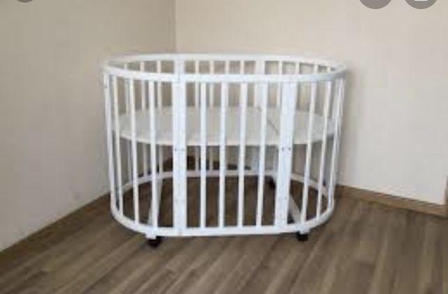 Кроватка круглая Incanto mimi 7в1