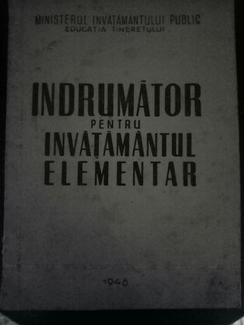 Indrumator pt Invatamantul Elementar 1948