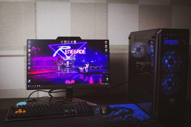 Мощный Игровой Компьютер (GTX 1650) + Acer Nitro