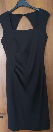 Официална черна рокля С
