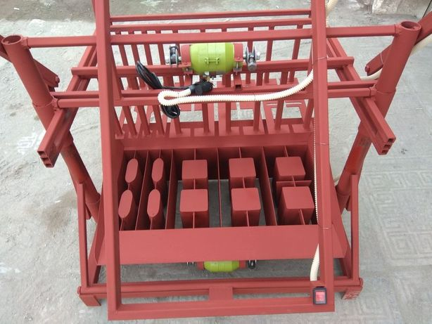 Станок для производства блоков, пескоблока, шлакоблока, вибростол, сит