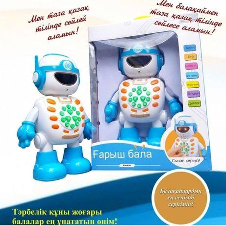 Смарт Робот. Ғарыш бала,әңгімешіл робот.Балаңызды қазақша тәрбиелеңіз